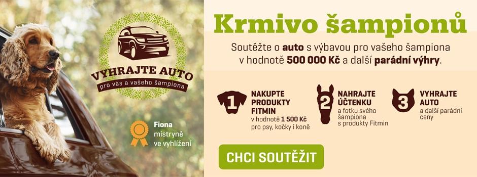 Fitmin - soutěž o nový vůz