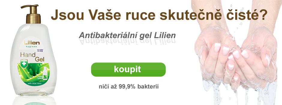 Antibakteriální gel Lilien