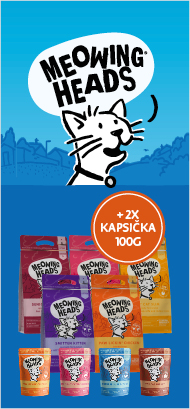 Meowing Heads 1,5kg + 2x kapsička