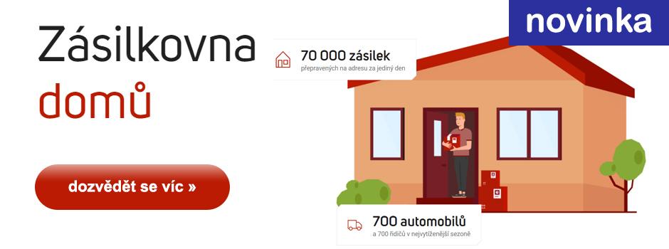Zásilkovna domů - doručení na adresu