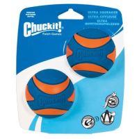 Míček Ultra Squeaker Ball Medium 6,5cm - 2 na kartě
