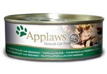 APPLAWS konzerva Cat tuňák a mořské řasy 156g