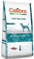 Calibra Dog Grain Free Senior Small Breed Duck 2kg