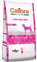 Calibra Dog Grain Free Junior Small Breed Duck 7kg