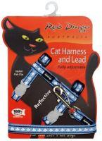 Postroj RD s vodítkem - kočka - Ref. Stř.Modrá