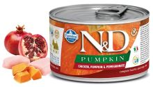 N&D DOG PUMPKIN Adult Chicken & Pomegranate Mini 140g - 1 + 1 ZDARMA