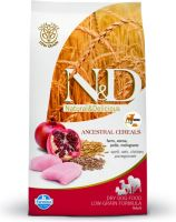 N&D Low Grain DOG Adult Mini Chicken & Pomegranate 2,5kg