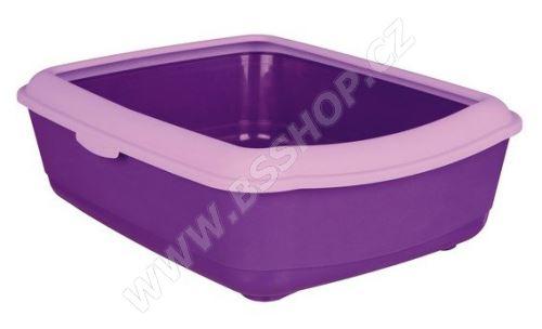 WC s okrajem 37x15x47cm, Trixie - fialovo/šeříková