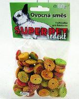 Super Pet SUPERPET Ovocná směs pro hlodavce 90g