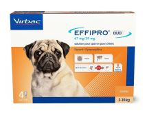 Effipro Duo S 67/20 mg spot-on 4 x 0,67ml