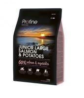 Profine NEW Dog Junior Large Salmon & Potatoes 3kg
