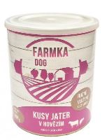 FARMKA DOG s játry 800g