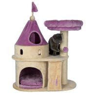 Škrábací hrad My Kitty Darling s odpočívadlem a hračkou, Trixie