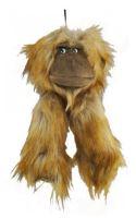 Plyšová opice pískací 13x30cm