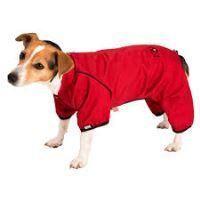 Obleček - Kombinéza softshell nepromokavá červená