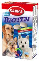 SANAL Biotin-kalciové tablety s biotinem 4x100g