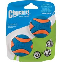 Míček Ultra Squeaker Ball Small 5cm - 2 na kartě