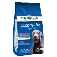 Arden Grange Puppy/Junior Large Breed 2kg - EXP 12/2018