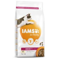 IAMS for Vitality Senior Cat Food with Fresh Chicken 2kg