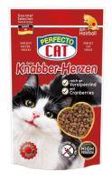 Perfecto Cat Feine Knabber Snack s Alpským šťavnatým Hovězím Anti Hairball 50g