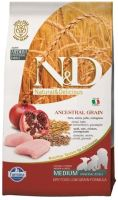 N&D Low Grain DOG Puppy M/L Chicken & Pomegranate 12kg