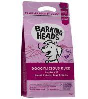BARKING HEADS Doggylicious Duck 2kg
