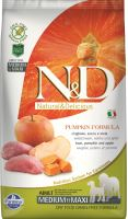 N&D Grain Free Pumpkin DOG Adult Medium/Large Boar & Apple 2,5kg