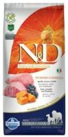N&D Grain Free Pumpkin DOG Adult Medium/Large Lamb & Blueberry 12kg