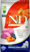 N&D Grain Free Pumpkin DOG Puppy Medium/Large Lamb & Blueberry 12kg