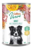 Calibra Dog Verve konzerva GF Adult Wild Boar&Beef 400g