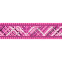 Vodítko RD přepínací 12mm x 2m - Flanno Hot Pink