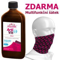 Artivit sirup 500ml + Multifunkční šátek