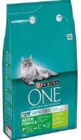 Purina ONE s krůtou Indoor pro kočky žijící v bytě 3kg