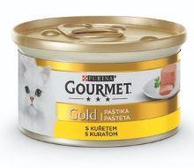 Gourmet Gold konzerva paštika s kuřecím 85g