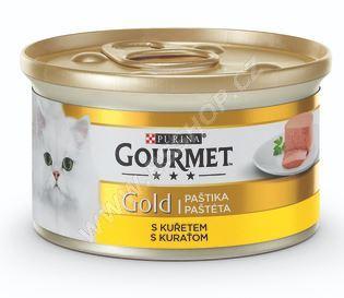 Gourmet Gold konzerva paštika s kuřecím