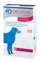 Cardon Orozyme žvýkací plátky M, pro psy 10-30kg, 141g EXP 08/2020