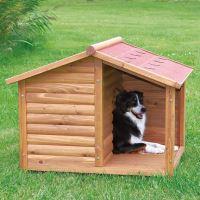 Natura bouda dřevěná chata s terasou Trixie