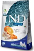 N&D OCEAN DOG Grain Free Adult Mini Codfish & Pumpkin & Orange 800g