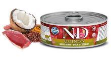N&D CAT QUINOA Adult Duck & Coconut 80g