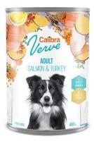 Calibra Dog Verve konzerva GF Adult Salmon&Turkey 400g