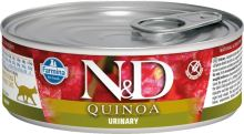 N&D CAT QUINOA Adult Urinary Duck & Cranberry 80g - 1 + 1 ZDARMA