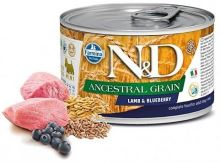 N&D DOG Low Grain Adult Lamb & Blueberry Mini 140g - 1 + 1 ZDARMA