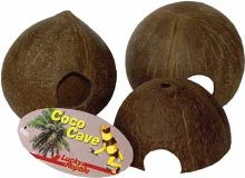Lucky Reptile Coco Cave, 1/2 skořápky cca 10-14cm