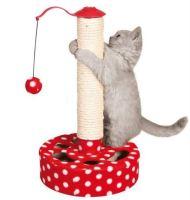 Škábadlo s míčkem červené s bílými puntíky, Trixie