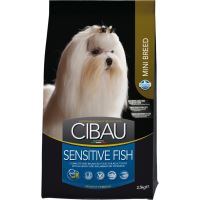 CIBAU Dog Adult Sensitive Fish & Rice Mini 2,5kg