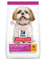 Hill's Science Plan Canine Mature Adult 7+ Small & Mini Chicken 6kg