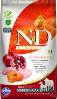 N&D Grain Free Pumpkin DOG Adult Medium/Large Chicken & Pomegranate 12kg