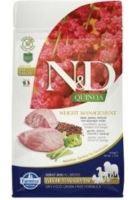 N&D Grain Free Quinoa DOG Weight Management Lamb & Broccoli 2,5kg