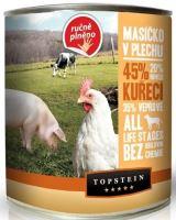 Topstein Masíčko v plechu - kuřecí 850g