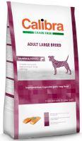 Calibra Dog Grain Free Adult Large Breed Salmon 12kg - EXP 02/2018